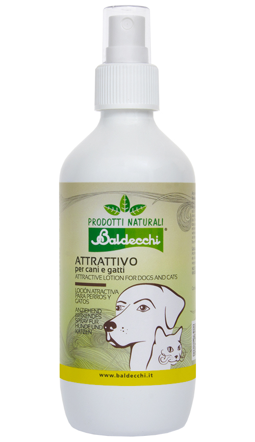 Attractive Spray for Dogs and Cats