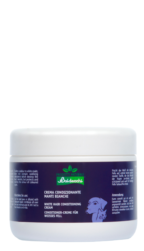 White Hair Conditioning Cream