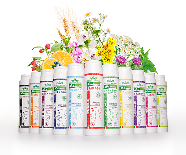 Linea Eco - Shampoos con Estratti Biologici
